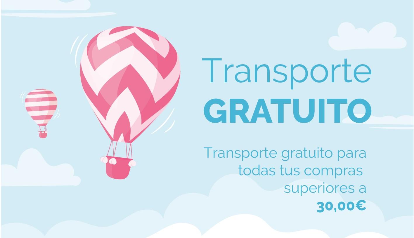 Transporte gratuito para compras superiores a 30,00€